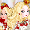 Apple White Royal Hairstyles