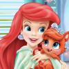 Ariel And Treasure Bathroom Cleaning