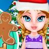 Baby Elsa Gingerbread House