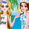 Belle And Rapunzel California Girls
