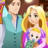 Rapunzel Gives Birth To A Newborn Baby