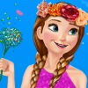Elsa And Anna Spring Dressup