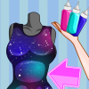 Elsa DIY Galaxy Dress