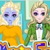 Elsa Magic Fashion Makeover