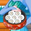 Elsa Make Sushi