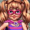 Little Girl Superhero Vs Princess