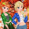 Princess Fall Flannel