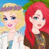 Princesses Boho Look