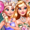 Princesses Wedding Selfie