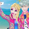 Princess Couple Travel Selfie