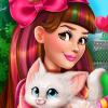 Victoria Adopts a Kitten